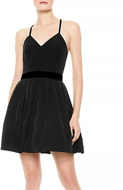 Alice + Olivia Madison Velvet Waist Dress