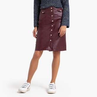Suncoo FIONA Straight Buttoned Skirt