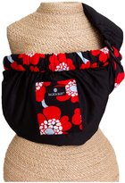 Balboa Baby Dr. Sears Baby Sling - Black w/ Red Poppy Trim - One Size