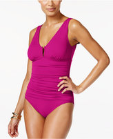 Lauren Ralph Lauren Beach Club Solids One-Piece Swimsuit