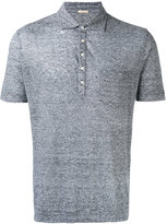 Massimo Alba classic polo shirt - men - Linen/Flax - S