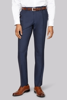 DKNY Slim Fit Indigo Mohair Look Pants