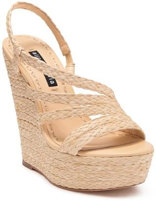 Alice + Olivia Tenley Espadrille Platform Wedge Sandal
