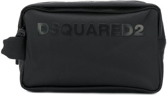 DSQUARED2 Logo Patch Wash Bag