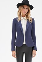 Forever 21 Contemporary Classic Single-Button Blazer
