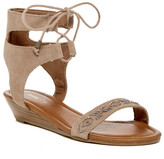 Minnetonka Paloma Beaded Wedge Sandal