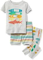 Old Navy Surfboard/Shark 3-Piece Sleep Set for Toddler & Baby