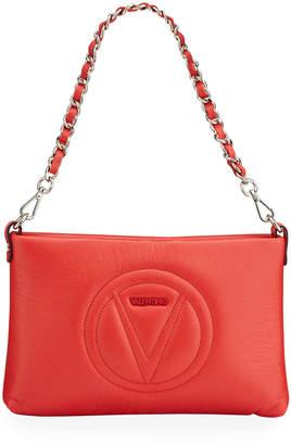 Mario Valentino Valentino By Vanille Sauvage V Logo Shoulder Bag