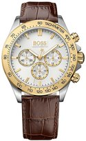 HUGO BOSS Men's 1513174 Leather Quartz Watch