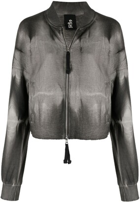 Thom Krom Bleached-Effect Jacket