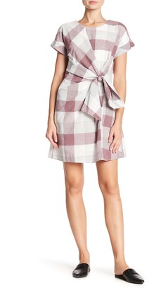 Spirit Of Grace Plaid Wrap Dress