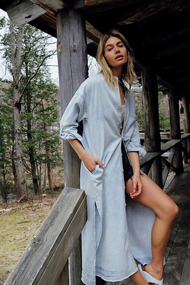 Free People Denim Market Dress