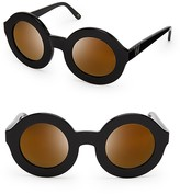 Wildfox Couture Twiggy Deluxe Mirror Sunglasses, 44mm