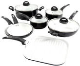Oster Herstal 11 Piece Ceramic Cookware Set