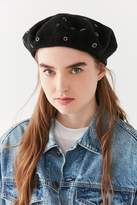 Urban Outfitters Scattered Grommet Beret