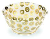 Michael Wainwright Tempio Luna Gold Round Serving Bowl