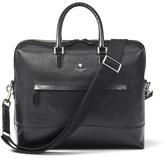 Aspinal of London City Structured Briefcase