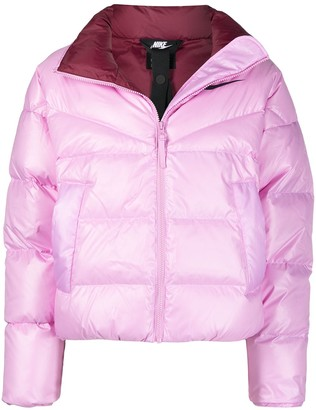Nike Stand-Up Collar Puffer Jacket