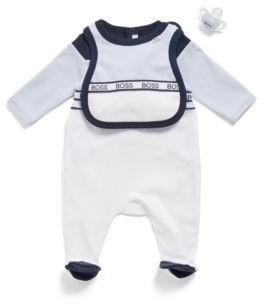 HUGO BOSS Baby dummy in silicone with printed logo