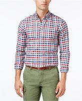 Tommy Hilfiger Men's Eli Herringbone Check Shirt