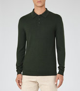 Reiss West Textured Polo Shirt