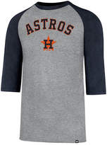 '47 Men's Houston Astros Pregame Raglan T-shirt