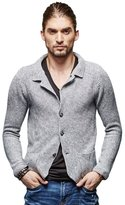 Liveinu Men's Series Shawl Collar Cardigan Sweater XXL