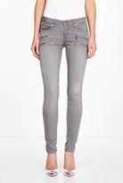 Paige Edgemont Element Grey Skinny Zip Jeans