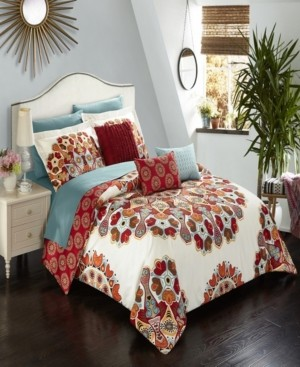 Chic Home Aberdeen 8 Piece Twin Bed In a Bag Comforter Set Bedding