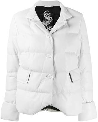 Ermanno Scervino Buttoned Puffer Jacket