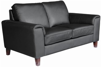 Roma Real Leather/Faux Leather2 Seater Sofa