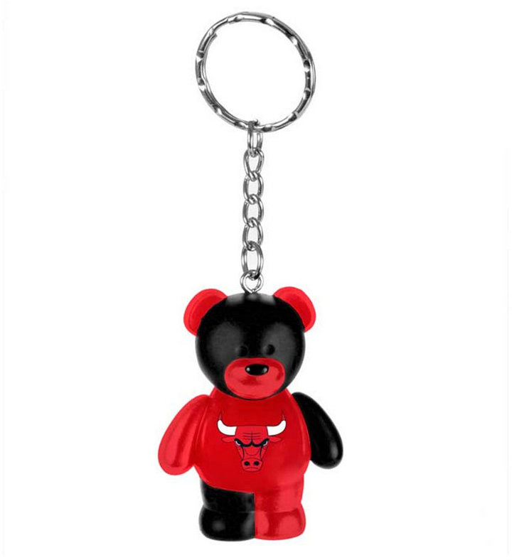 Forever Collectibles Chicago Bulls Bear Keychain