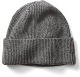 Banana Republic Italian Cashmere Blend Ribbed Hat