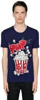 Love Moschino Pop Corn Printed Cotton Jersey T-Shirt