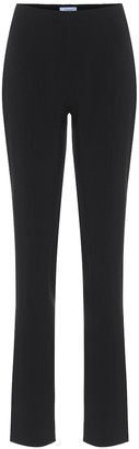 Thierry Mugler High-rise skinny crepe pants