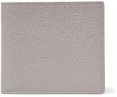 Thom Browne Pebble-grain Leather Billfold Wallet - Gray