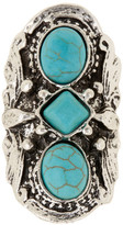 Stephan & Co Turquoise Stone Statement Ring