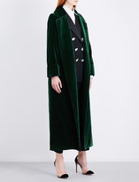 Racil High Windsor velvet coat