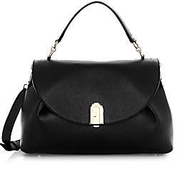 Furla Women's Medium Sleek Leather Top Handle Bag
