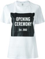 Opening Ceremony logo print T-shirt - women - Cotton - S