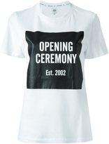 Opening Ceremony logo print T-shirt - women - Cotton - XS