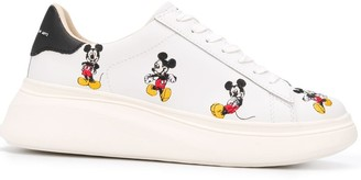 Moa Master Of Arts Disney Mickey Mouse embroidered sneakers