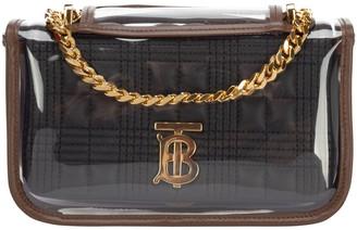 Burberry Lola Mini Transparent Cover Shoulder Bag