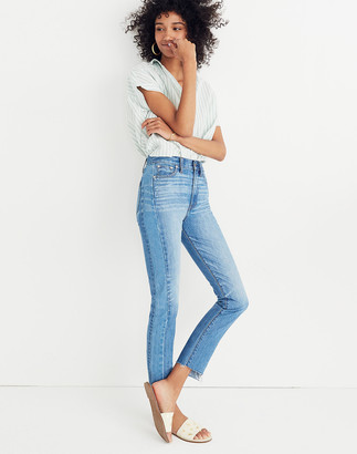 Madewell The Petite Perfect Summer Jean: Pieced Edition