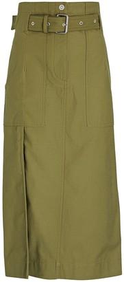 3.1 Phillip Lim Belted Cargo Midi Skirt