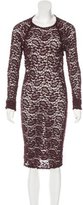 Etoile Isabel Marant Lace Bodycon Dress