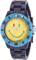 """Smiley """"Happy Time"""" Men's WGS-CBBV01 Color Block Blue and Analogue Watch"""