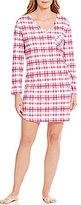 Karen Neuburger Plaid Sleepshirt