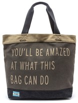 Toms - Transport You'll Be Amazed Tote - Charcoal - One Size