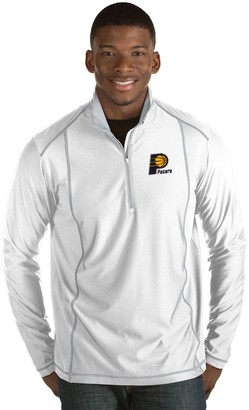 Antigua Men's Indiana Pacers Tempo Quarter-Zip Pullover